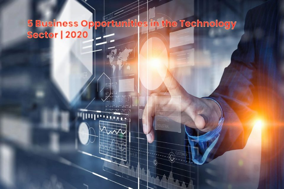 image result for 5 Business Opportunities in the Technology Sector - 2020