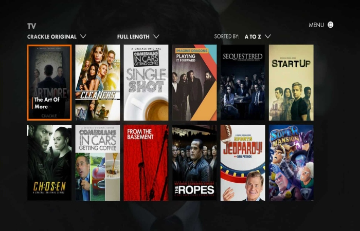 image result for sony crackle
