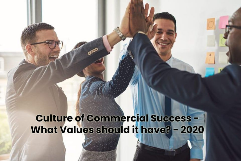 image result for Culture of Commercial Success - What Values should it have - 2020