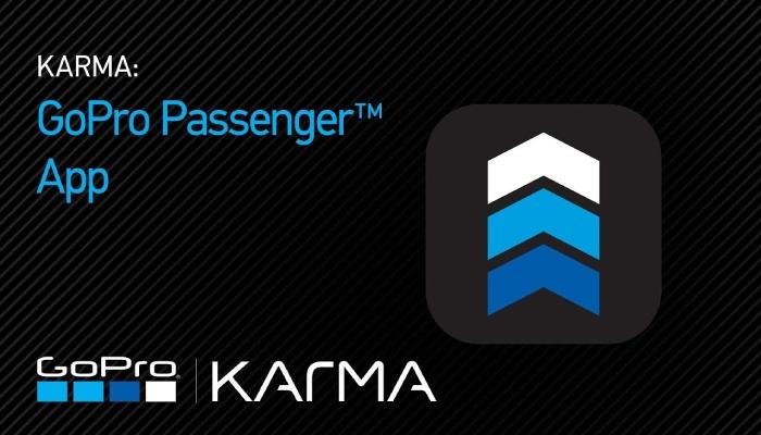 image result for gopro - passenger app