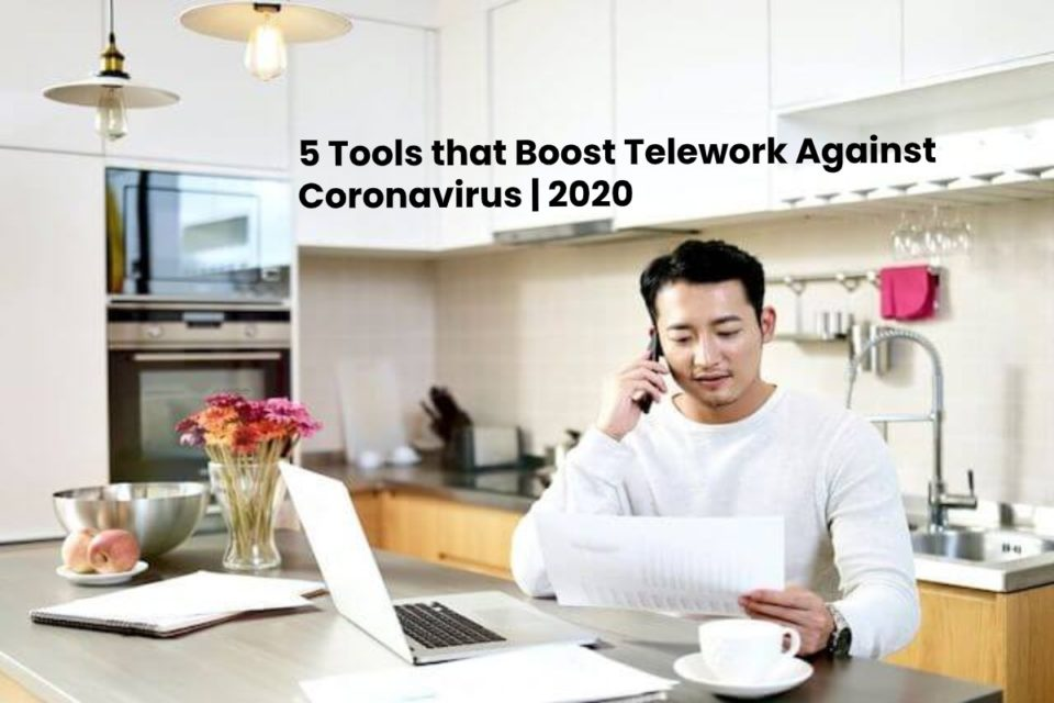 image result for 5 Tools that Boost Telework Against Coronavirus - 2020